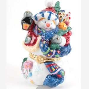 Traditions Porcelain Decorative Box